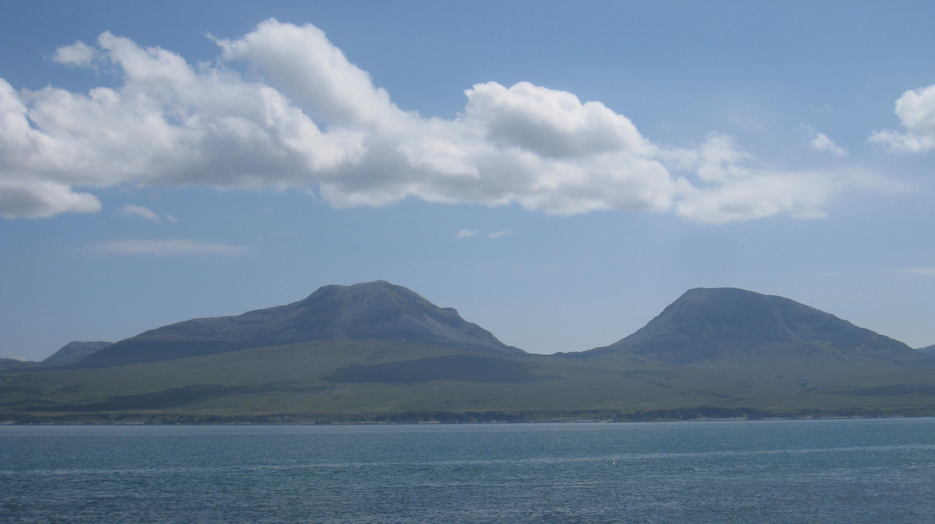 The Paps of Jura from Islay